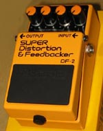 Boss Super Distortion & Feedbacker DF-2